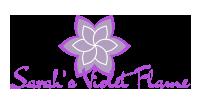 Sarah Violet Flame Logo